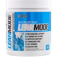 EVLution Nutrition, LeanMode, Stimulant Free Fat Burner, Blue Raz, 6.0 oz (171 g)