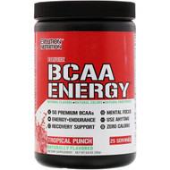 EVLution Nutrition, BCAA Energy, Tropical Punch, 8.8 oz (250 g)