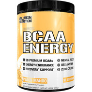 EVLution Nutrition, BCAA Energy, Peach Mango, 9.52 oz (270 g)