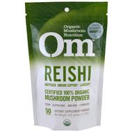 Organic Mushroom Nutrition, Reishi, Mushroom Powder, 3.57 oz (100 g)
