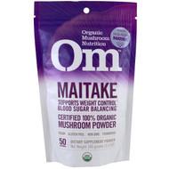 Organic Mushroom Nutrition, Maitake, Mushroom Powder, 3.57 oz (100 g)