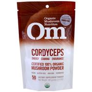 OM Organic Mushroom Nutrition, Cordyceps, Mushroom Powder , 3.57 oz (100 g)