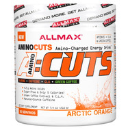ALLMAX Nutrition, AMINOCUTS (ACUTS), Weight-Loss BCAA (CLA + Taurine + Green Coffee), Arctic Orange, 7.4 oz (210 g)