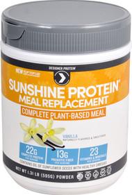 Designer Protein Sunshine Protein Meal Replacement Vanilla - 1.31 lbs