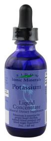 Eidon Mineral Supplements, Ionic Minerals, Potassium, Liquid Concentrate, 2 oz (60 ml)