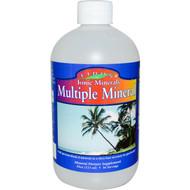 Eidon Mineral Supplements, Ionic Minerals, Multiple Mineral, 18oz (533 ml)