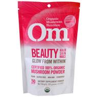 OM Organic Mushroom Nutrition Supplement Powder - Beauty -- 3.5 oz