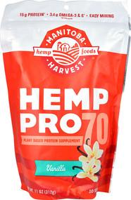 Manitoba Harvest Hemp Pro 70  Vanilla - 11 oz