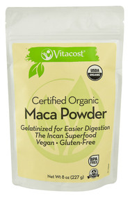 Vitaco, Certified Organic Gelatinized Maca Powder - Gluten Free - 8 oz (227 g)