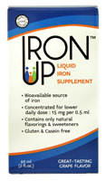 A.C. Grace Iron Up Liquid Iron Supplement  Grape - 2 fl oz