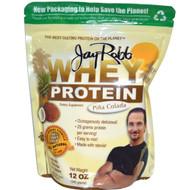 Jay Robb Whey Protein Isolate Piña Colada - 12 oz