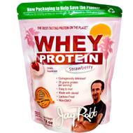 Jay Robb Whey Protein Powder Strawberry - 12 oz