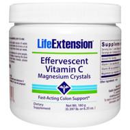 Life Extension, Effervescent Vitamin C - Magnesium Crystals, 6.35 oz (180 g)