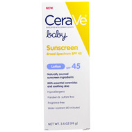 CeraVe, Baby, Sunscreen Lotion, SPF 45, 3.5 oz (99 g)
