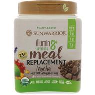 Sunwarrior, Illumin8, Plant-Based Organic Superfood Meal Replacement, Mocha, 14.1 oz (400 g)