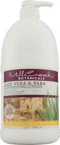 Mill Creek, Botanicals Aloe Vera and PABA Moisturizing Lotion - 64 fl oz