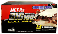 MET-R|X, Big 100, Meal Replacement Bar, Super Cookie Crunch, 9 Bars, 3.52 oz (100 g) Each