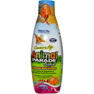 Natures Plus, Source of Life, Animal Parade Liquid, Childrens Multi-Vitamin, Natural Tropical Berry Flavor, 30 fl oz (887.10 ml)