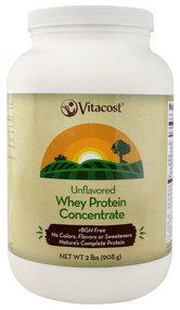 Vitacost ROOT2 Whey Protein Concentrate Unflavored - 2 lbs (908 g)