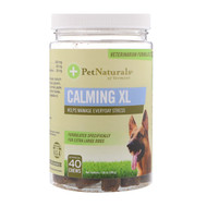 Pet Naturals of Vermont, Calming XL, For Extra Large Dogs, 40 Chews, 7.05 oz (200 g)