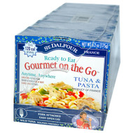St. Dalfour, French Bistro, Gourmet on the Go, Tuna & Pasta, 6 Pack, 6.2 oz (175 g) Each