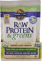 Garden of Life, Raw Protein & Greens, Organic Plant Formula, Real Raw Vanilla, 10 Packets, 1.0 oz (27 g) Each