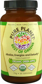 Pure Planet Best of Greens Organic Green Apple - 79 grams