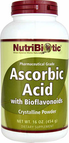 NutriBiotic Ascorbic Acid Bioflavonoids - 16 oz