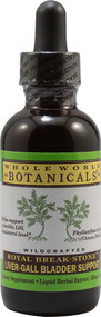 Whole World Botanicals Royal Break Stone Liver Gall Bladder Support - 2 fl oz