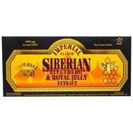 Imperial Elixir, Siberian Eleuthero & Royal Jelly Extract, Alcohol Free, 4000 mg, 30 Bottles, 0.34 fl oz (10 ml) Each