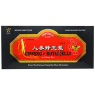 Imperial Elixir, Ginseng and Royal Jelly, in a Honey Base, 30 Bottles, 0.34 fl oz (10 ml) Each
