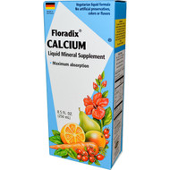 Flora, Floradix, Calcium, Liquid Mineral Supplement, 8.5 fl oz (250 ml)