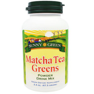Sunny Green, Matcha Tea Greens Powder Drink Mix, 2.4 oz (67.5 g)