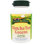 Sunny Green, Matcha Tea Greens Powder Drink Mix, 2.4 oz (67.5 g)