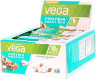 Vega Protein Snack Bar Coconut Almond -- 12 Bars