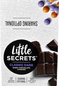 Little Secrets LLC Candy Coated Dark Chocolate Candies Classic Dark - 12 Packs