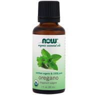Now Foods, Organic Essential Oils, 100% Pure Oregano Oil, 1 fl oz (30 ml)