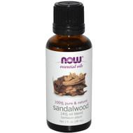 Now Foods, Essential Oils, Sandalwood, 1 fl oz (30 ml)
