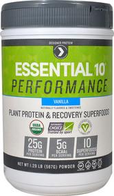 Designer Protein Essential 10 Performance Vanilla - 1.29 lbs