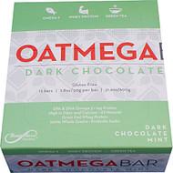 Boundless Nutrition, Oatmega Bar,  Dark Chocolate Mint - 12 Bars