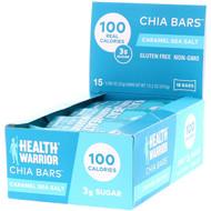 Health Warrior Chia Bars Caramel Sea Salt -- 15 Bars