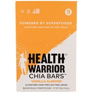 Health Warrior, Chia Bars, Vanilla Almond, 15 Bars, 13.2 oz (375 g)