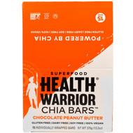 Health Warrior, Chia Bars, Chocolate Peanut Butter, 15 Bars, 13.2 oz (375 g)
