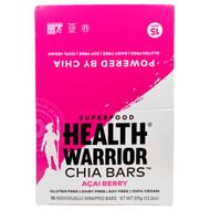 Health Warrior, Chia Bars, Acai Berry, 15 Bars, 13.2 oz (375 g)