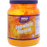 NOW Sports Eggwhite Protein Unflavored -- 1.2 lbs