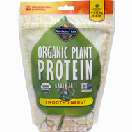 Garden of Life Organic Plant Protein Smooth Energy -- 8.4 oz