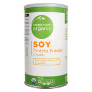 Simple Truth Organic Soy Protein Powder Natural Vanilla - 16 oz
