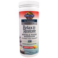 Garden of Life, Dr. Formulated Magnesium Relax & Restore, Raspberry Lemon, 8.1 oz (230 g)