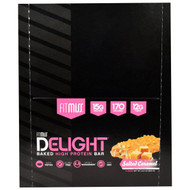 FitMiss, Fit Miss Delight, Baked High Protein Bar, Salted Caramel, 12 Bars, 21.2 oz (600 g)