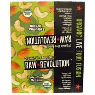 Raw Revolution, Organic Live Food Bar, Spirulina Dream, 12 Bars, 1.8 oz (51 g) Each